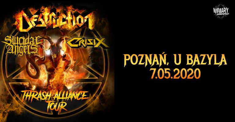 Destruction + Suicidal Angels, Crisix
